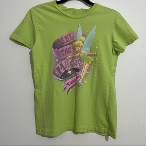 Green Tinker Bell Graphic Tee